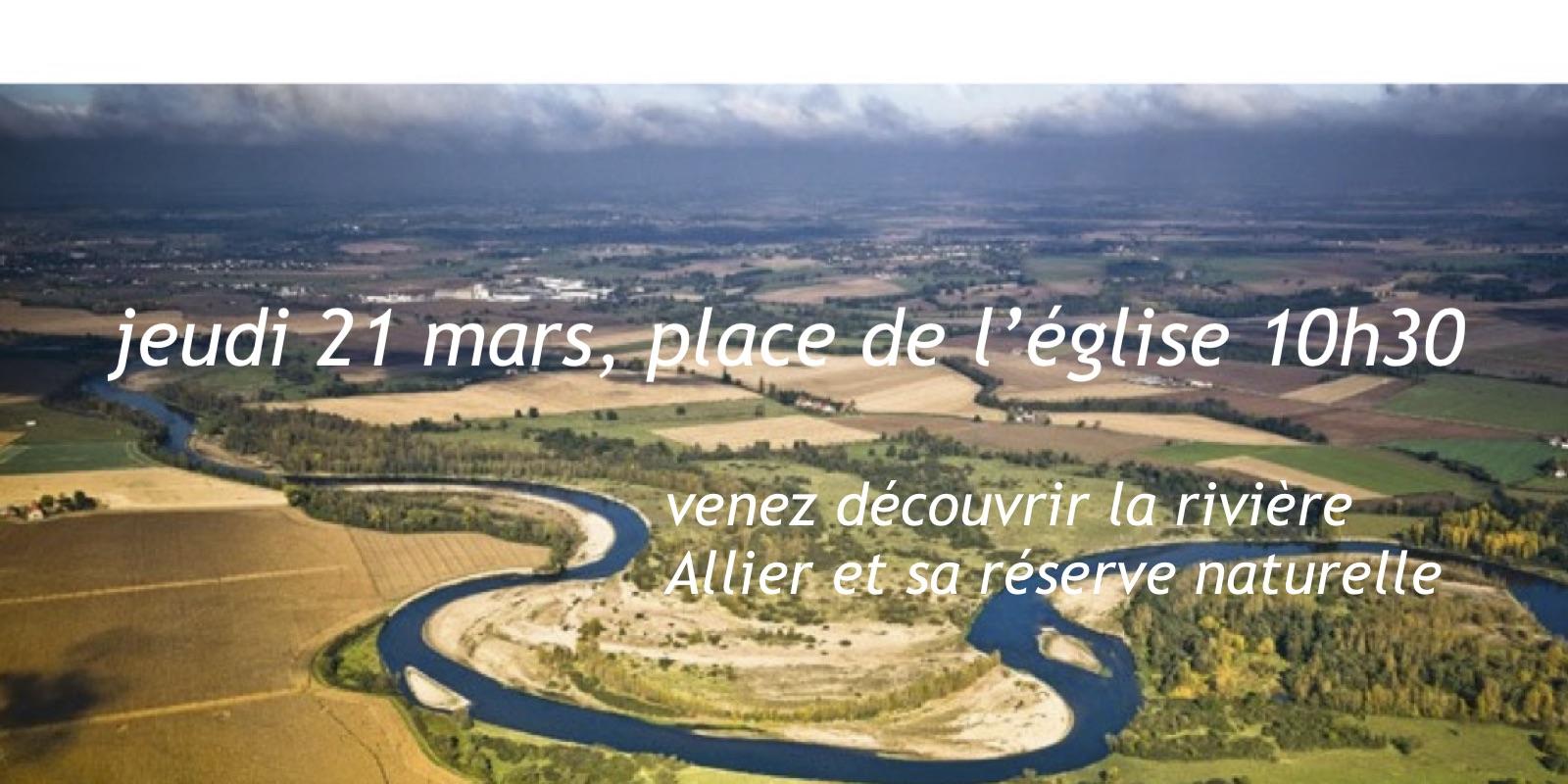 Découverte rivière Allier et sa réserve…