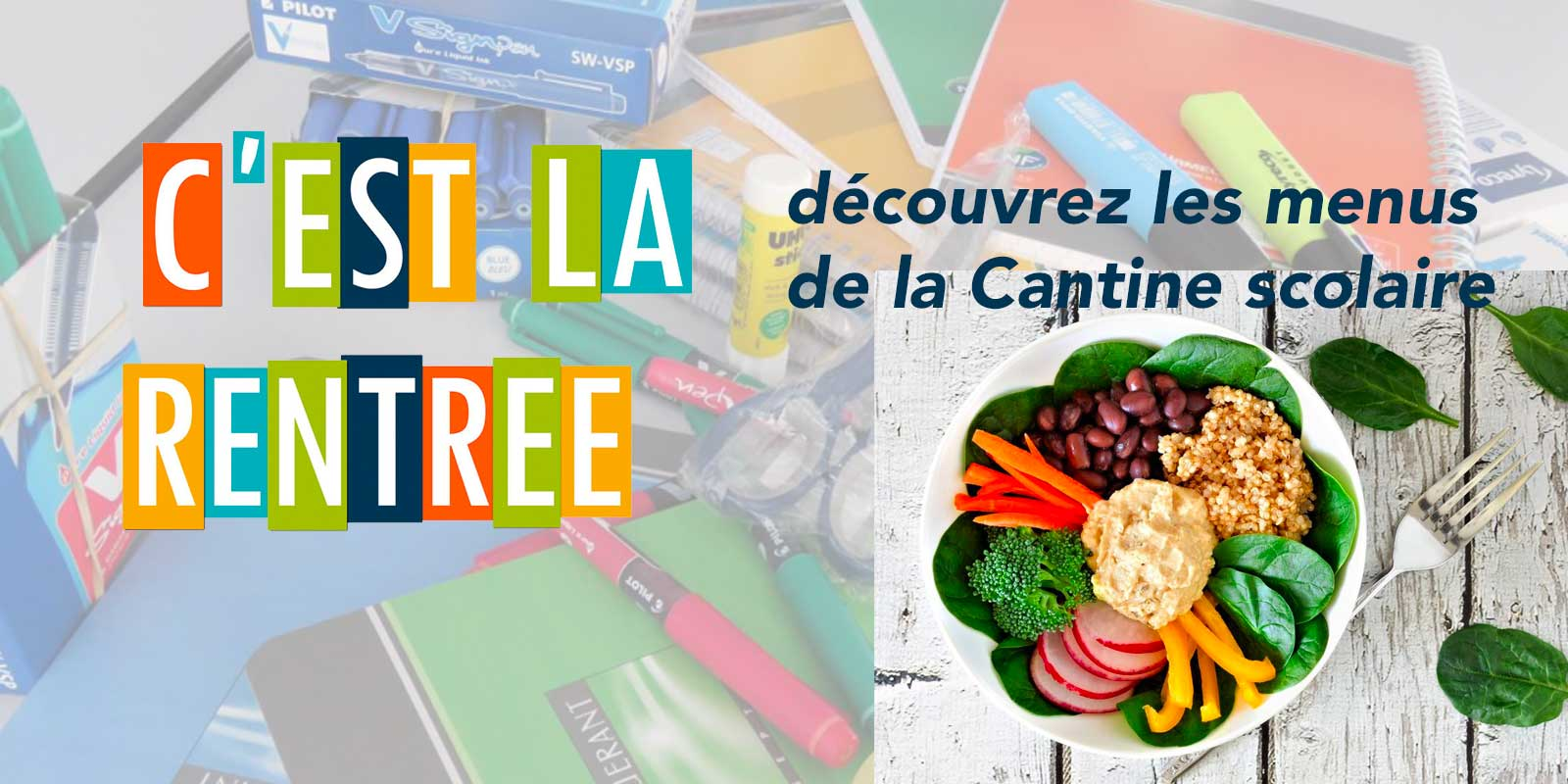special rentree cantine