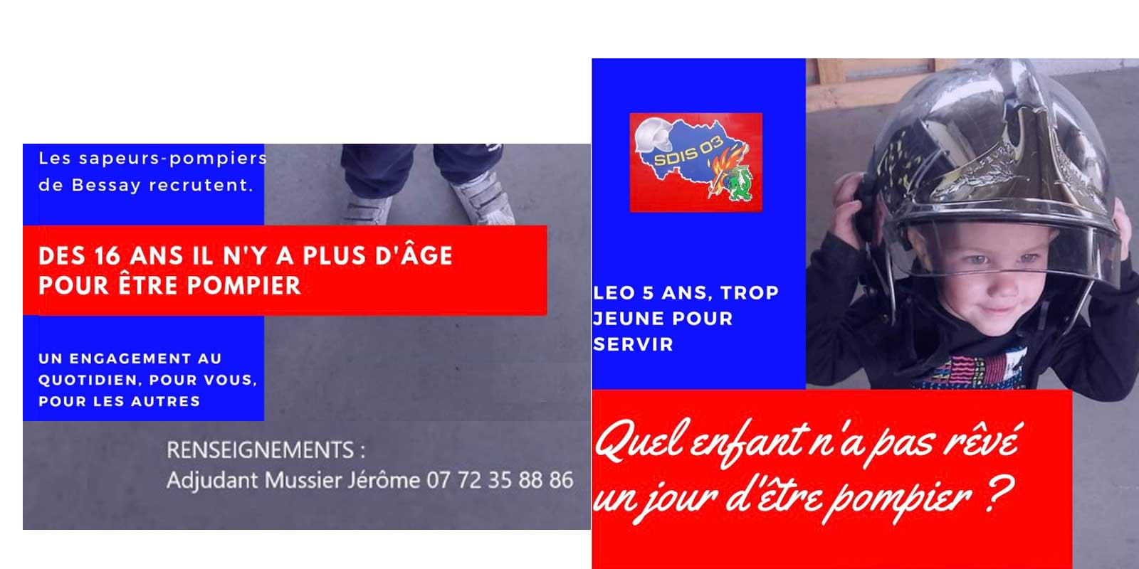 engager pompier
